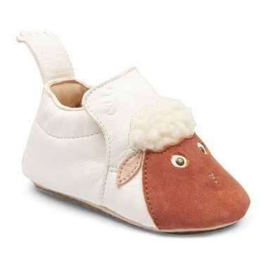 Chaussons antiderapants blublu mouton pour enfants de la marque Easy Peasy