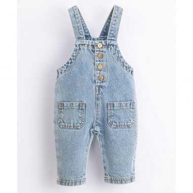 Salopette en jean pour enfants de la marque Play up