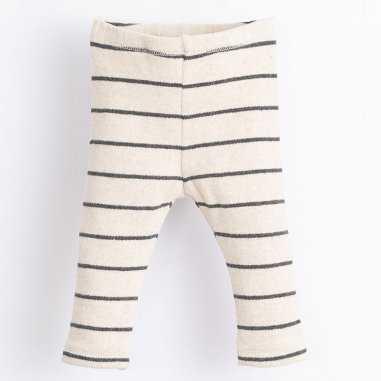 Legging à rayures pour bébés de la marque Play up