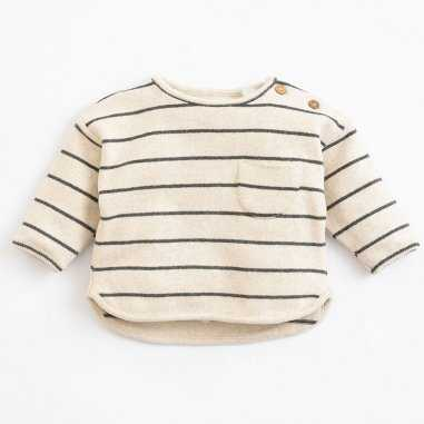 Sweatshirt à rayures pour enfants de la marque Play up