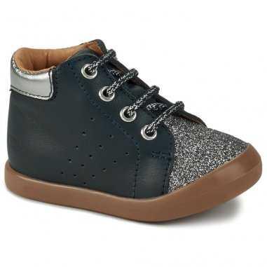 Chaussures marine pailletées pour enfants de la marque GBB