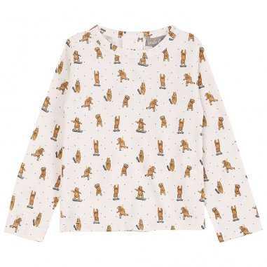 Tee-shirt ourson pour bébés de la marque Emile et Ida