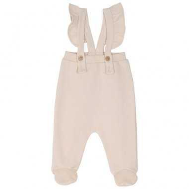 Pantalon à pieds coquille pour bébés de la marque Emile et Ida