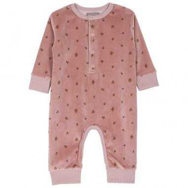 Combinaison rose mirabelle bois pour bébés de la marque Emile et Ida