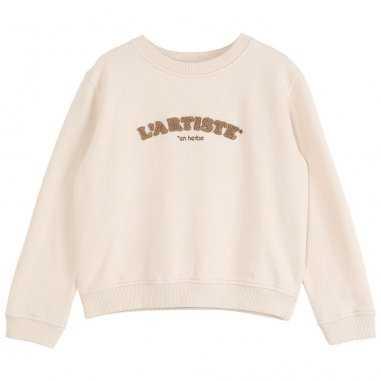 Sweatshirt L'artiste en herbe pour enfants de la marque Emile et Ida