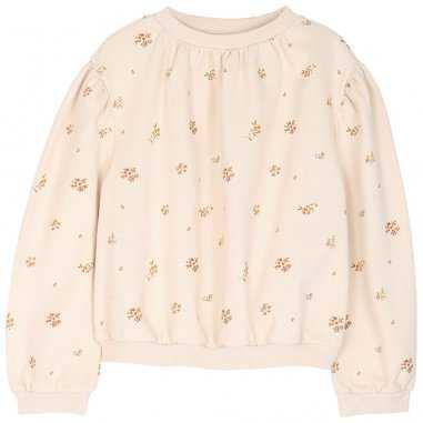 Sweatshirt fleurs pour enfants de la marque Emile et Ida