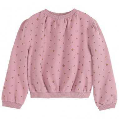 Sweatshirt mirabelle rose boir pour enfants de la marque Emile et Ida