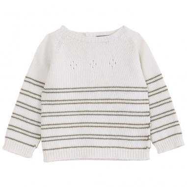 Pull en laine ajouré pour bébés de la marque Emile et Ida