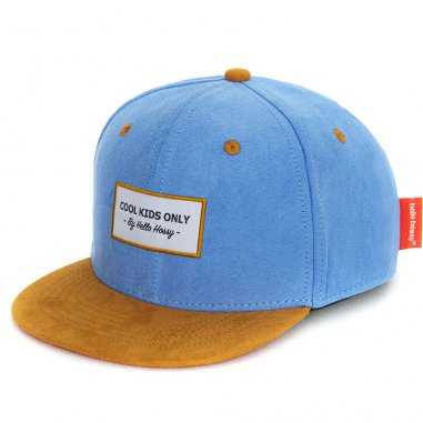 Casquette en daim cool blue pour enfants de la marque Hello Hossy