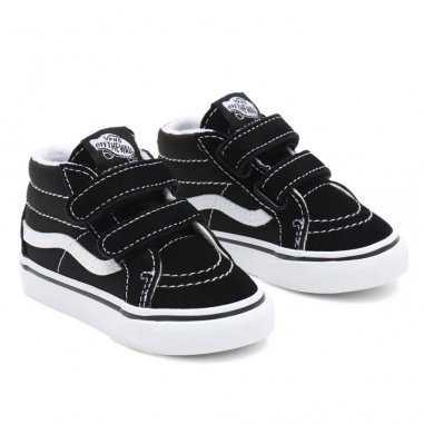 Sneakers Vans montantes de couleur noire pour enfants
