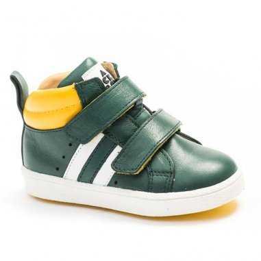 Chaussures vert olive pour enfants de la marque Acebos