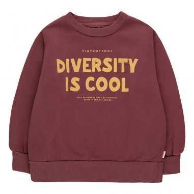 Sweatshirt diversity is cool pour enfants de la marque Tinycottons