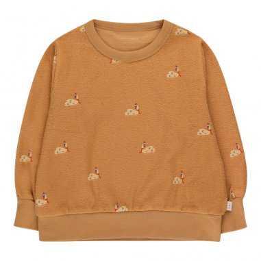 Sweatshirt en éponge pour enfants de la marque Tinycottons