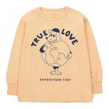 Tee-shirt true love pour enfants de la marque Tinycottons