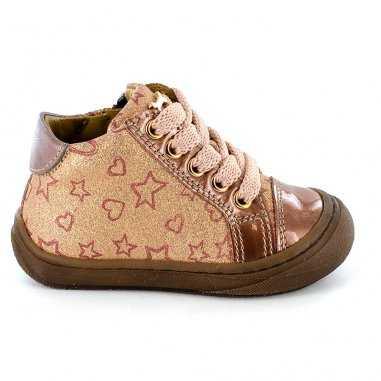 Chaussures wand rose pour enfants de la marque Stones and Bones