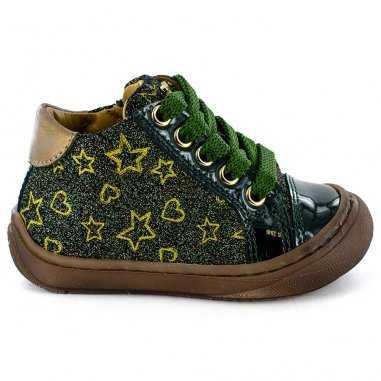 Chaussures wand vertes pour enfants de la marque Stones and Bones