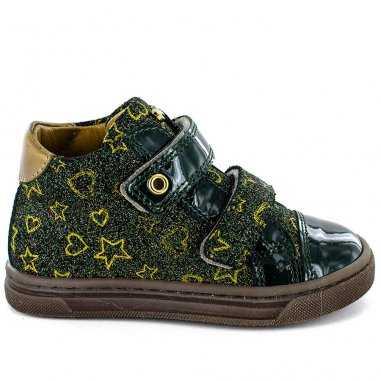 Chaussures land vertes pour enfants de la marque Stones and Bones