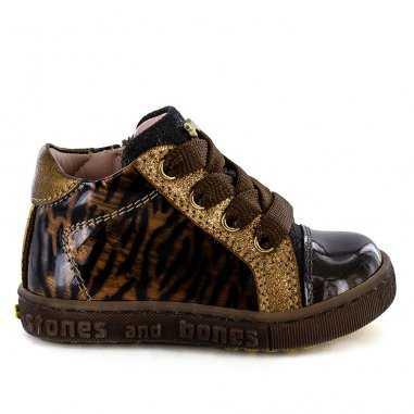Chaussures bema leopard pour enfants de la marque Stones and Bones