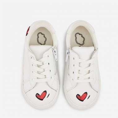 Sneakers mini simone in love pour enfants de la marque Bons Baisers de Paname
