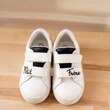 Sneakers mini edith petit frère de la marque Bons Baisers de Paname