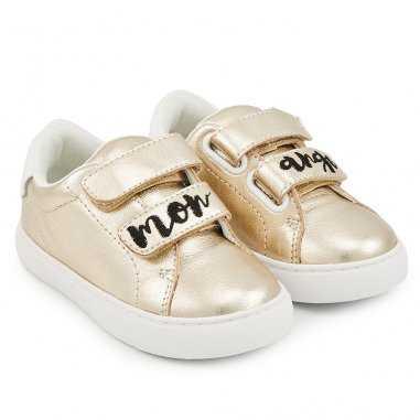Sneakers mini edith mon ange pour enfants de la marque Bons Baisers de Paname