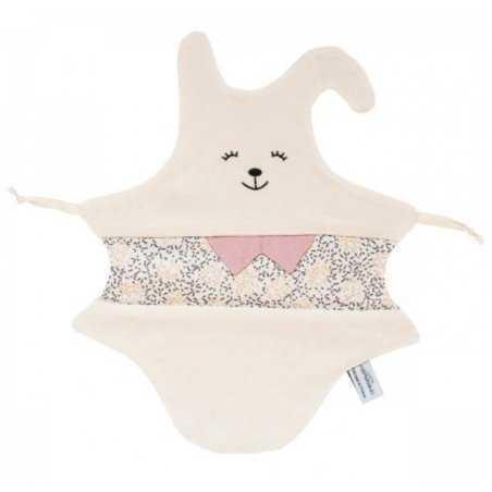Doudou lapin confettis