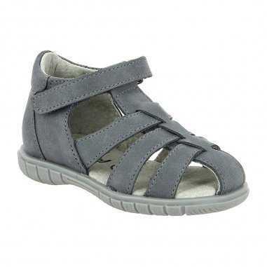 Sandales paviee grises d'été