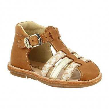 Sandales kegepye camel