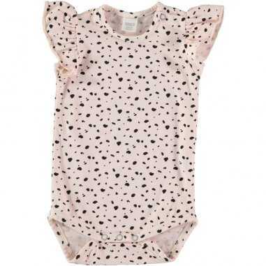 Body pour bébés filles Bean's Barcelona rose poudré