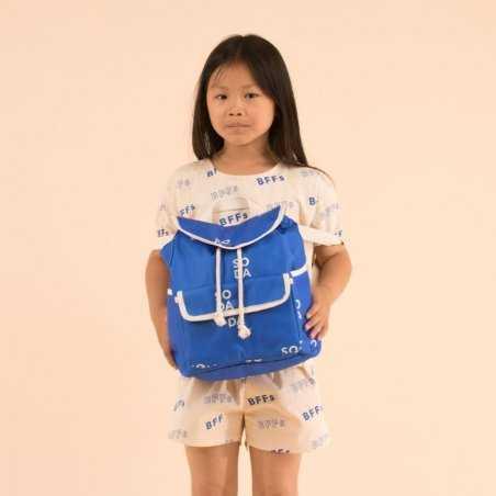 Sac à dos bleu pour enfants