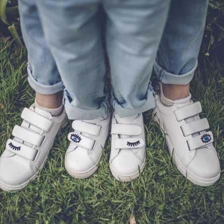 Sneakers pour filles Bons baisers de paname