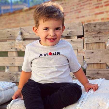 Tee-shirt amour pour enfants