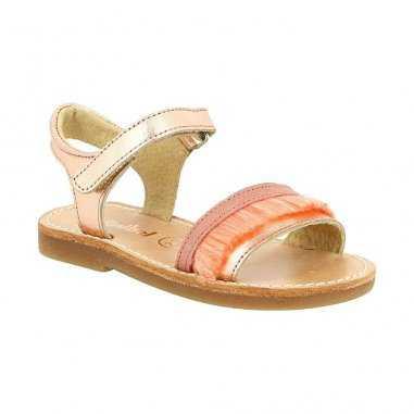 chaussures de séparation df7bc f7694 Sandales pour enfants Minibel rose pêche