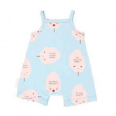Combinaisons pour bébés bleu ciel tinycottons