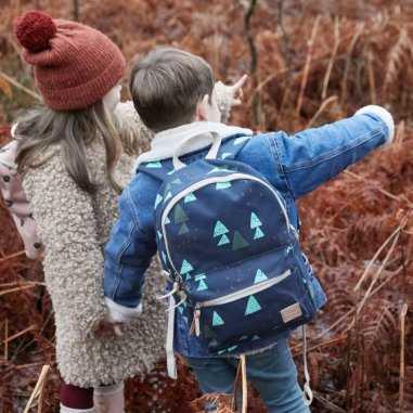 Sac à dos bleu pour petits garçons