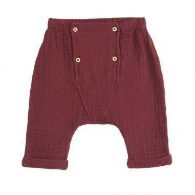 Pantalon pour bébés bordeaux emile et ida