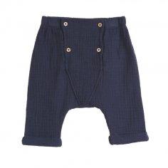 Pantalon pour bébés marine Emile et Ida