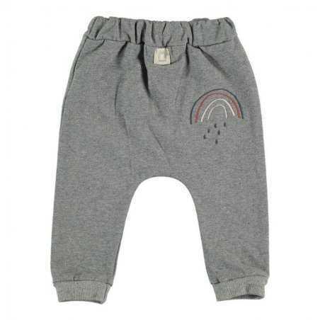 Pantalon sarouel molletonné pour bébés