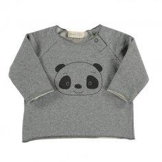 Tee-shirt pour bébés Bean's Barcelona gris clair