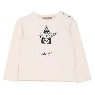 Tee-shirt bébés Emile et Ida écru