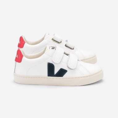 Sneakers pour enfants blanches Veja