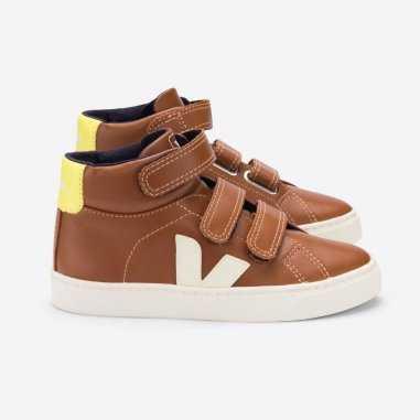 Sneakers enfants Veja camel