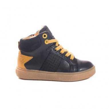 Très belles chaussures marine pour enfants de la marque Acebos à bas prix