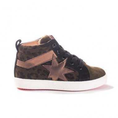 Chaussures pour enfants Acebos kaki