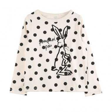 Un tee-shirt à manches longues pour enfants avec un imprimé unique de la marque Emile et Ida au meilleur prix