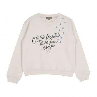 Sweat en coton molletonné pour enfants de la marque Emile et ida à prix imbattable