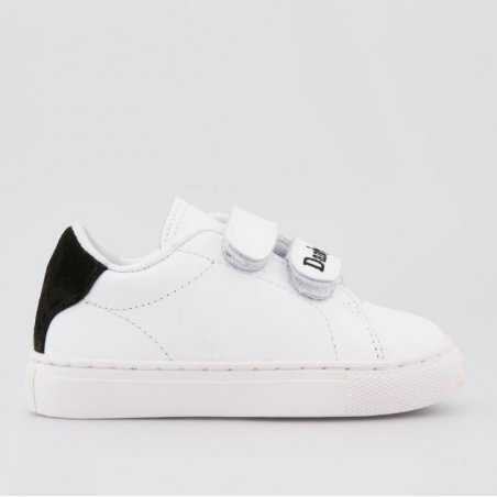 Sneakers blanche mini dandy garçon