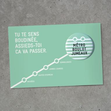 Badge pour femmes enceintes au meilleur prix de la marque Bab Paris