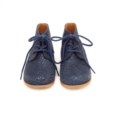 Chaussures pour enfants Patt'touch léopard marine