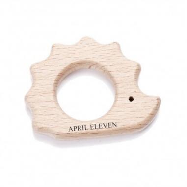 Anneau de dentition en bois pour bébés